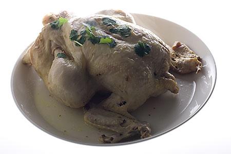 Hel kyckling, recept för tryckkokare