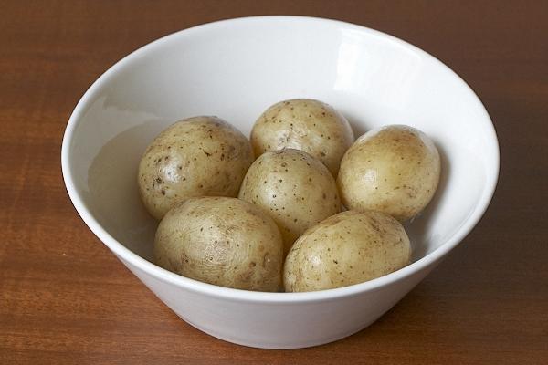 Potatis i tryckkokare