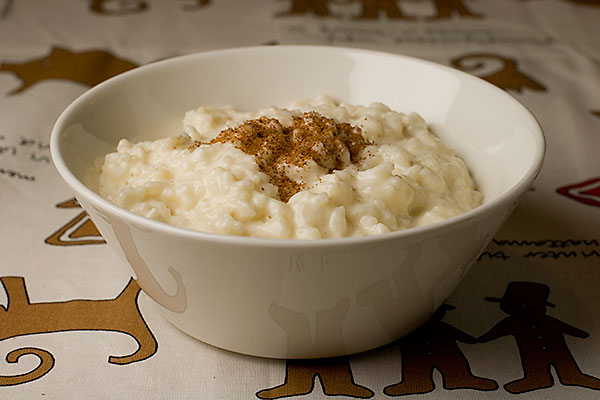 Risgrynsgröt, recept för tryckkokare