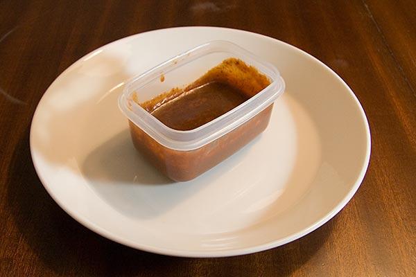 Saltfri köttbuljong, redo för infrysning