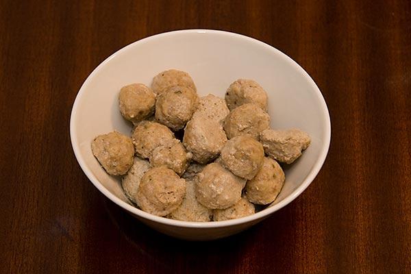 Barnmat - Lammfrikadeller