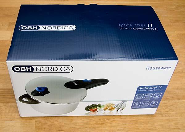 Kartong OBH Nordica Quick Chef 6 liter