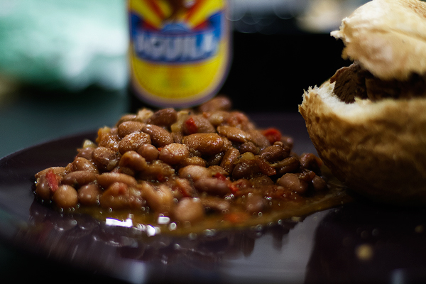 Frijoles Colombianos med Pulled Pork